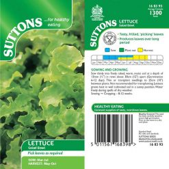 Lettuce Salad Bowl by Suttons Seeds| 168393| Nationwide Delivery