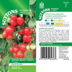 Tomato F1 Tumbler by Suttons Seeds| 182363| Nationwide Delivery