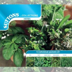 Herb Collection by Suttons Seeds| 185351| Nationwide Delivery