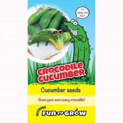 Fun to Grow - Cucumber Crocodile (Bush Champion) by Suttons Seeds| 186505| Nationwide Delivery