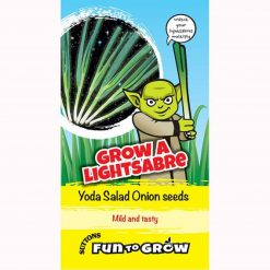 Fun to Grow - Grow A Lightsaber (Onion Yoda F1) by Suttons Seeds| 186509| Nationwide Delivery