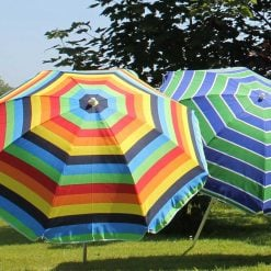 Beach Parasol Assorted Colour 1.6m-PABHGR307| McD's Garden Centre | Nationwide Delivery
