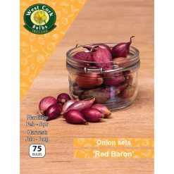 Onion Sets 'Red Baron' 14/21 Mm | ORBPP | Onion & Garlic Sets| Nationwide Delivery