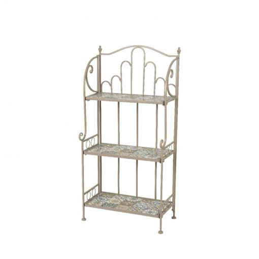 Toulouse Iron Shelf Rack 840920 | McD's Garden Centre | Nationwide Delivery