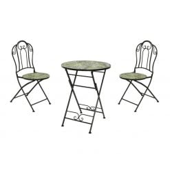 Maun Mosaic Bistro Set-840430 | McD's Garden Centre | Nationwide Delivery